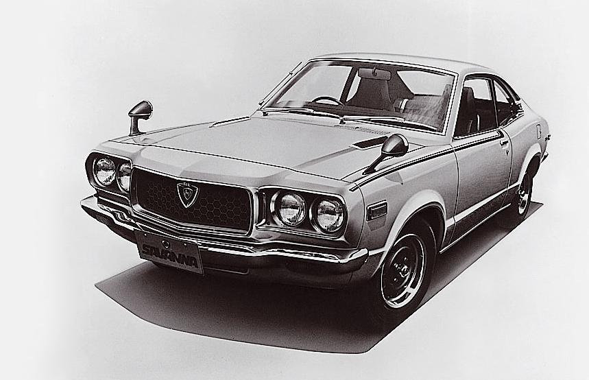 Mazda RX-3 von 1971.