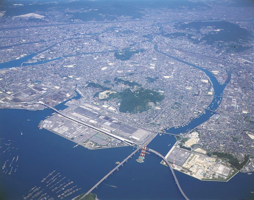 Mazda-Werk in Hiroshima, Eröffnung 1966.