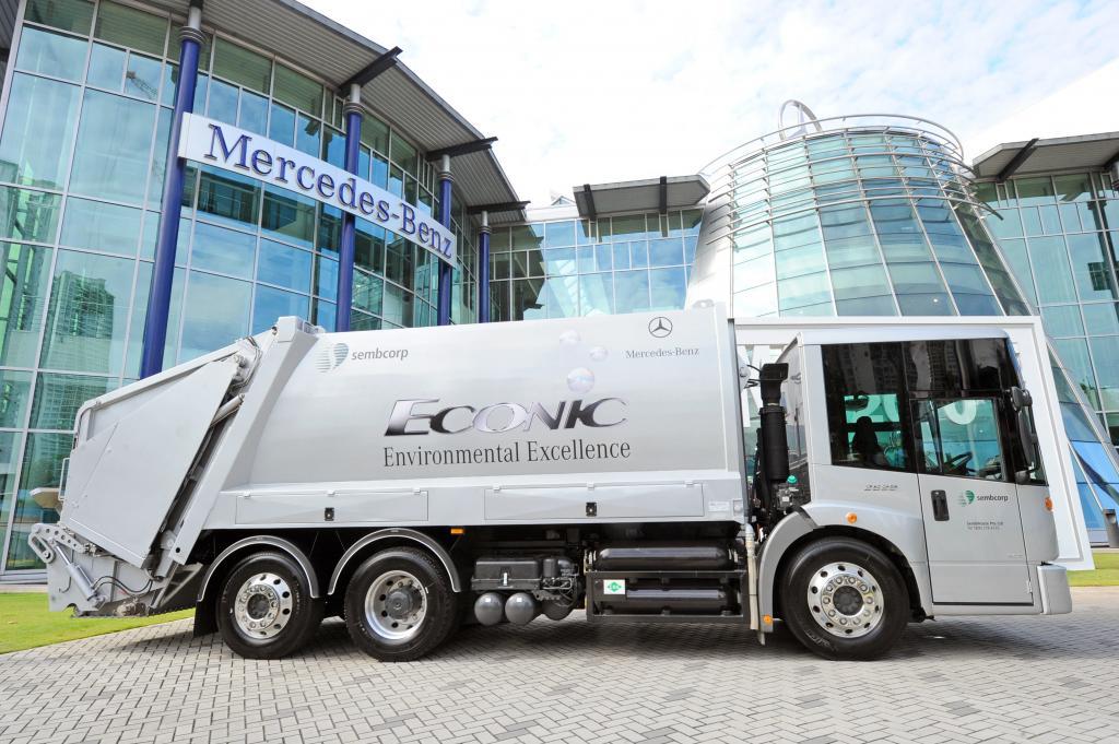 Mercedes-Benz Econic NGT erstmals auch in Asien im Einsatz