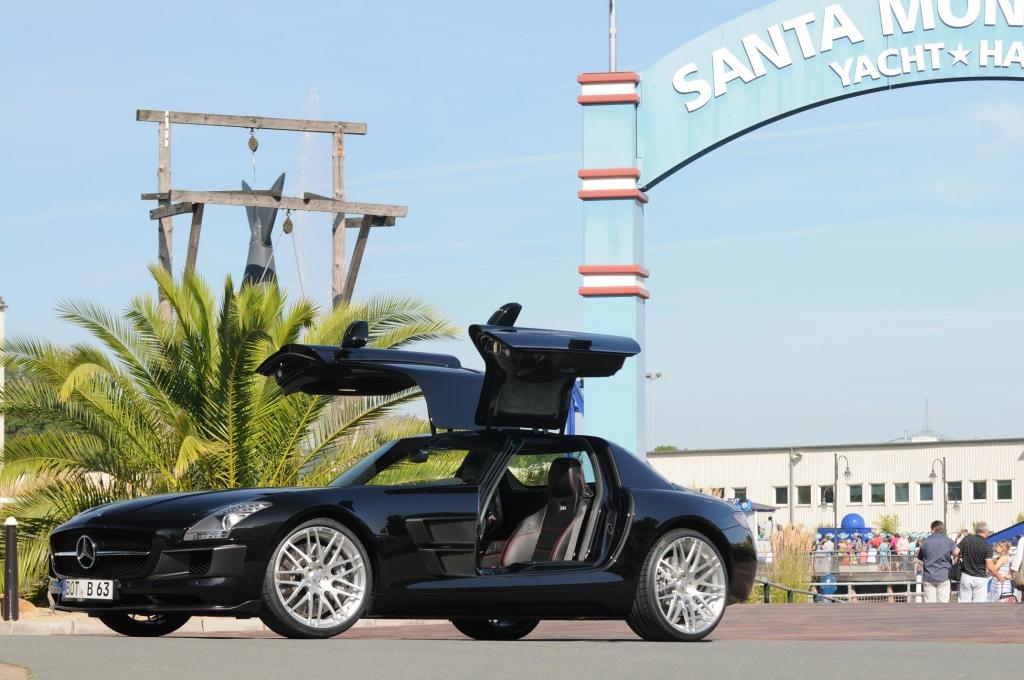 Mercedes SLS AMG im Brabus-Trimm: Leichter dank Carbon