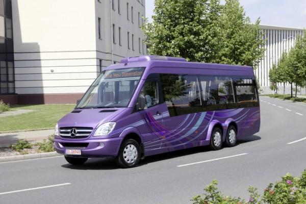 Mercedes Sprinter City wächst auf rund neun Meter