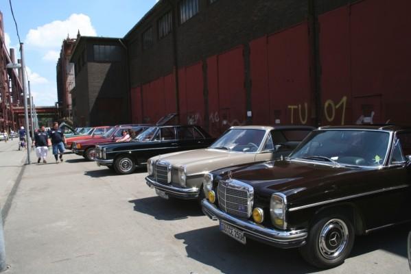 Mercedes-Treffen: Schöne Sterne 2010 auf Henrichshütte