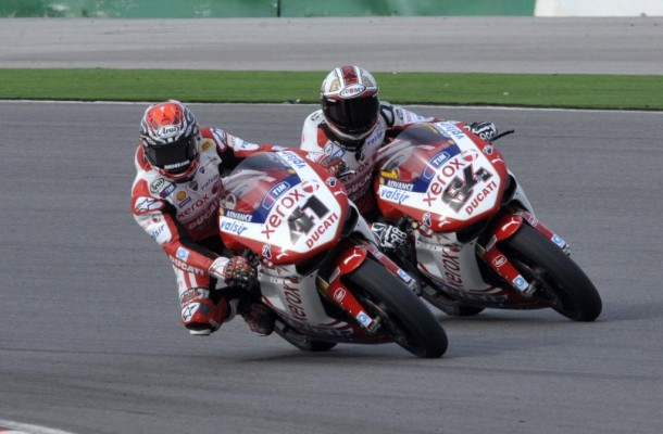 Mit Ducati zur Superbike-WM 2010 am Nürburgring