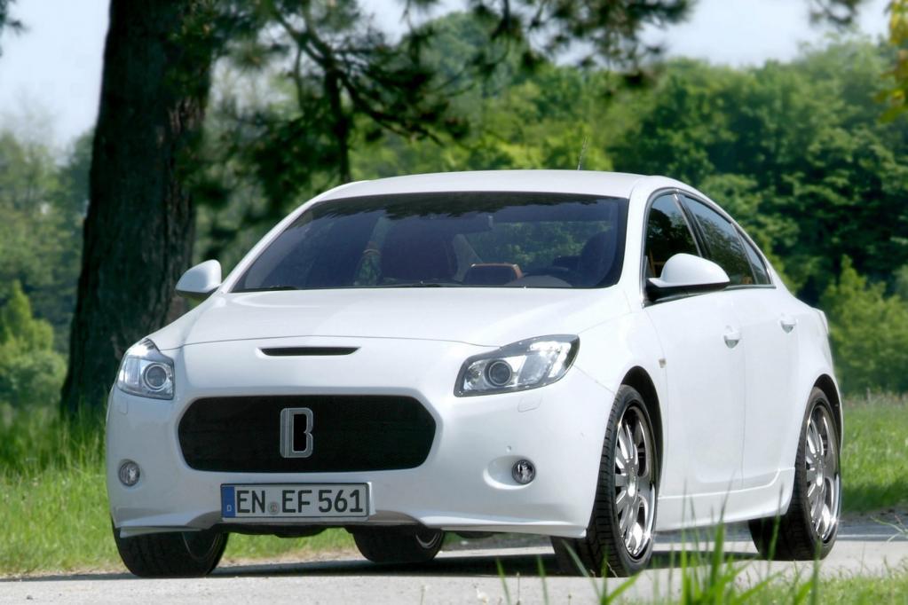 Mit der Luxusversion des Opel Insignia meldet sich Erich Bitter zurück.