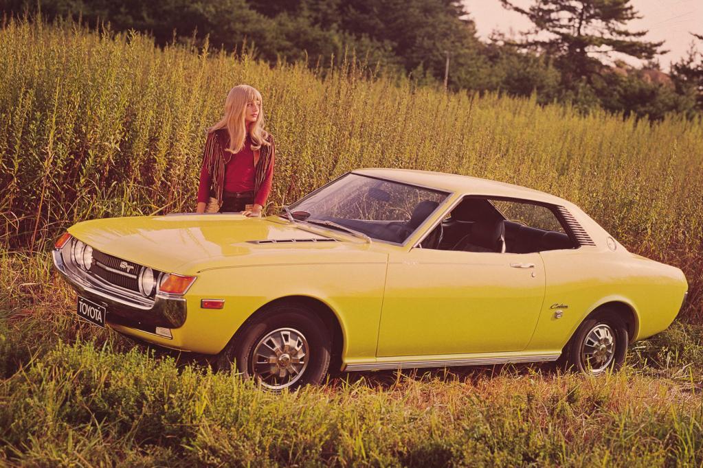 Nach dem Vorbild amerikanischer Muscle Cars brachte Toyota Anfang der 70er die Celica auf den Markt.