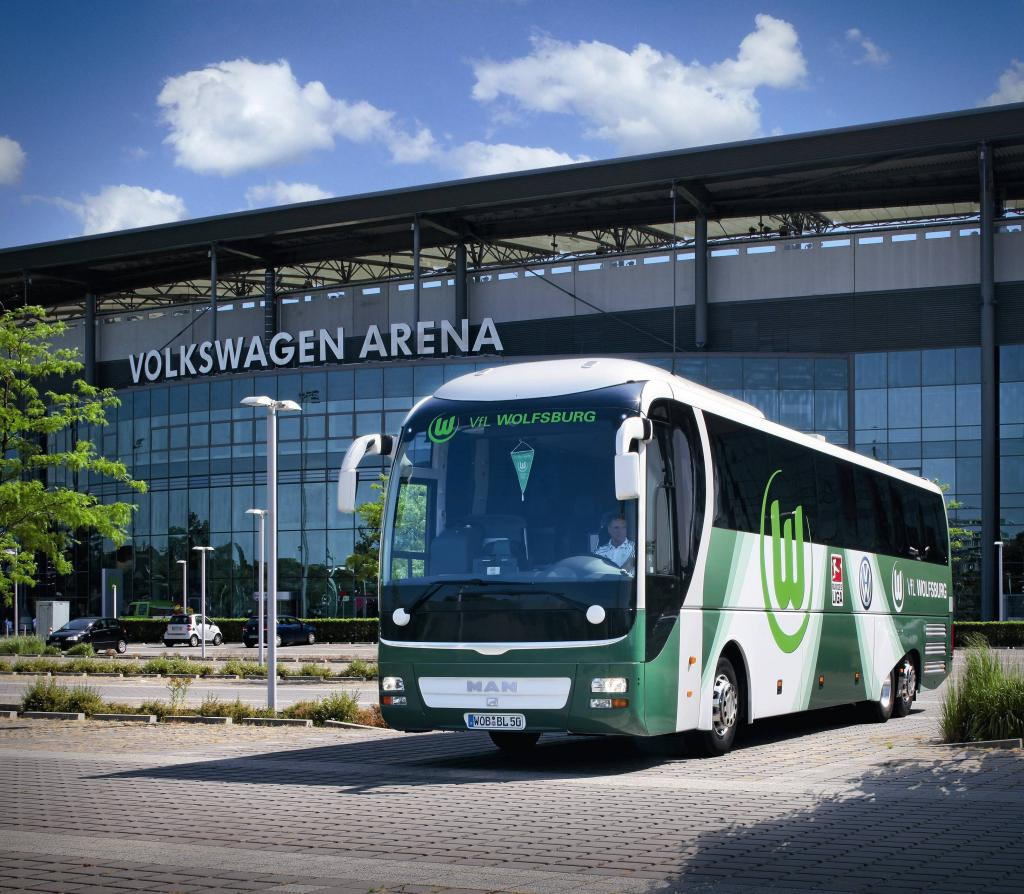 Neuer Teambus der
