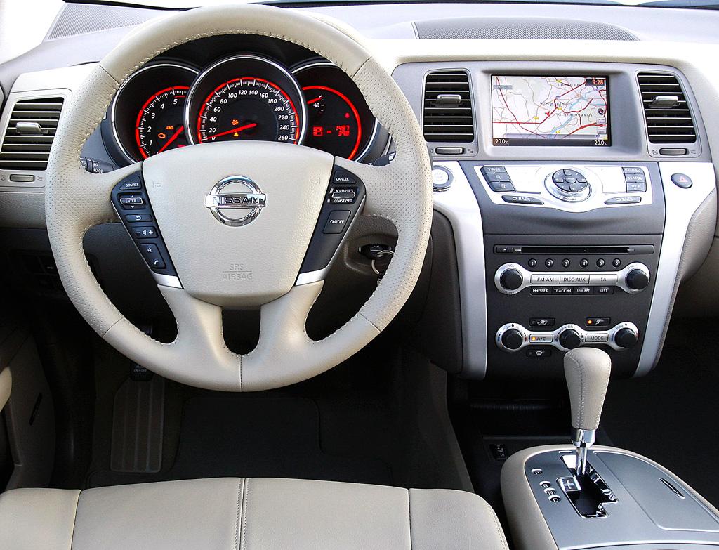 Nissan Murano Diesel: Blick ins Cockpit.