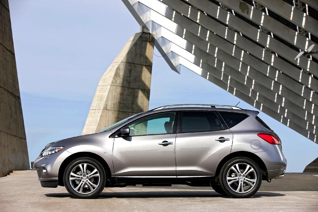 Nissan Murano Diesel: Die Karosserie hat weiteren Feinschliff erhalten.