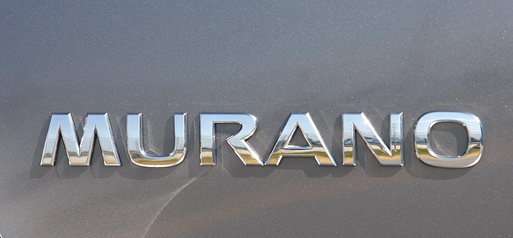 Nissan Murano Diesel: Modellschriftzug an der Heckklappe.