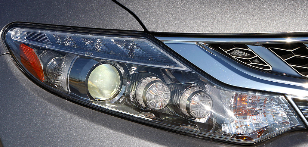 Nissan Murano Diesel: Vordere Leuchteinheit.