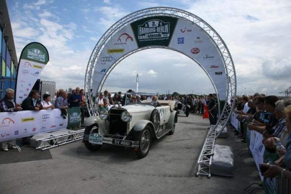 Oldtimer-Rallye: Norddeutsche Spazierfahrt
