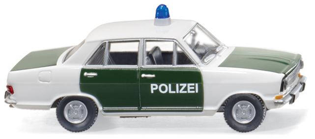 Opel Kadett B von Wiking in Polizeiausführung.