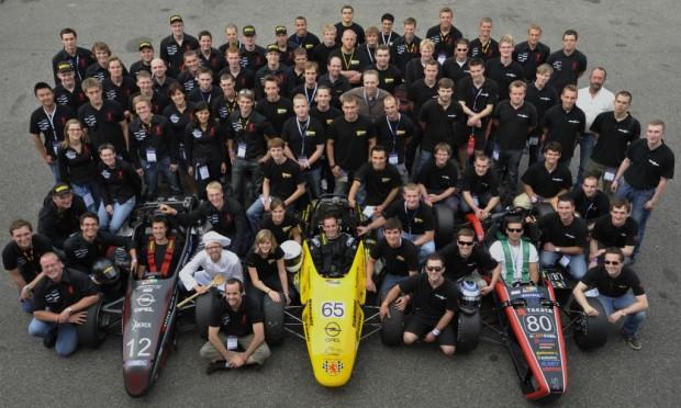 Opel unterstützt drei deutsche Teams bei der Formula Student