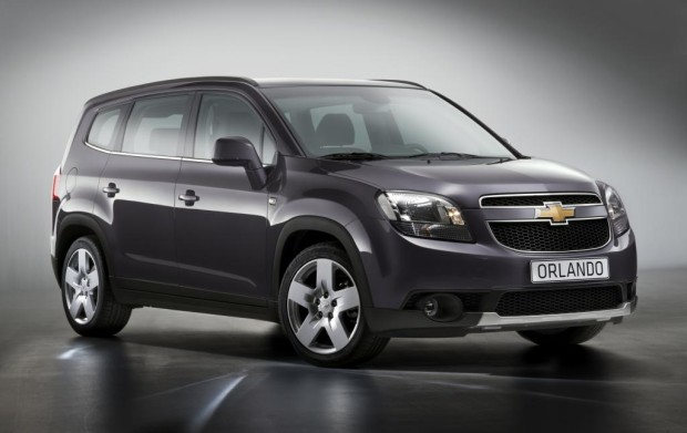 Paris 2010: Chevrolet feiert Weltpremiere des Familien-Van Orlando