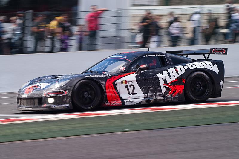 Podestplatz für den Audi R8 LMS in Spa