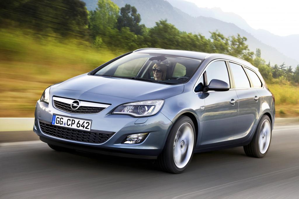 Preise für Opel Astra Sports Tourer beginnen bei 18 000 Euro