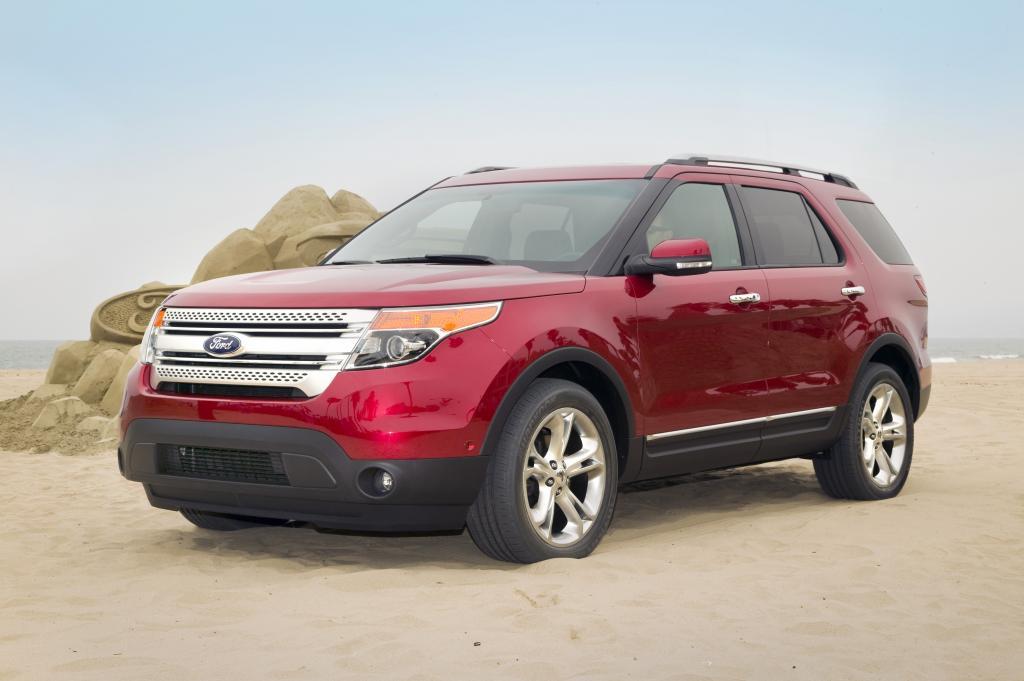 Pressepräsentation Ford Explorer: Willkommen in der Gegenwart!
