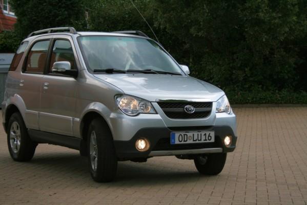Pressepräsentation Luis 4U Green: Mini-SUV unter Strom