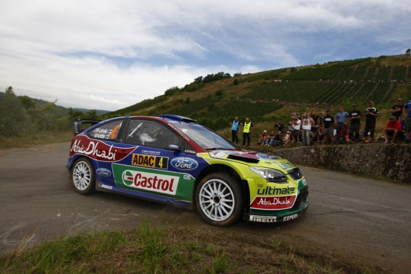 Rallye-WM: Ford belegte hinter drei Citroën Rang 4