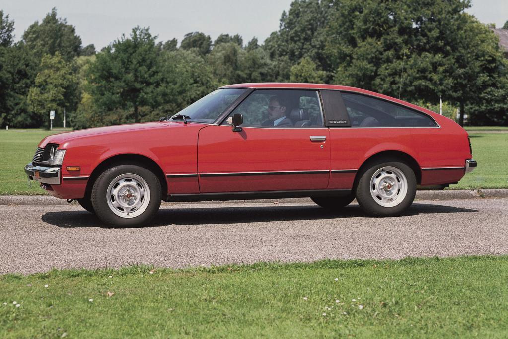 Schon 1978 war es allerdings vorbei mit den Muskeln, zumindest optisch: Die zweite Generation des Wagens wirkt nicht halb so originell wie die erste.