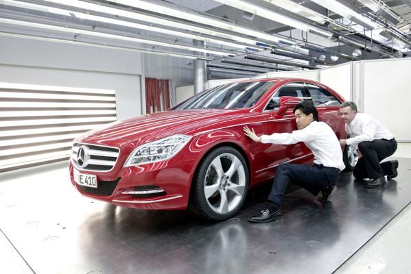 Sinnlicher Athlet: Neuer Mercedes CLS fährt ab Januar in künftiger Formensprache vor