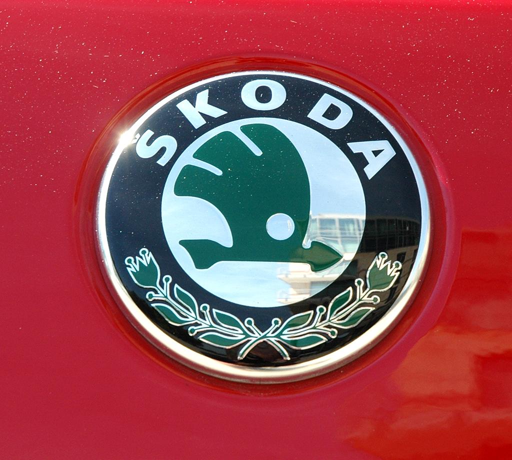 Skoda Fabia RS: Markenlogo auf der Heckklappe.