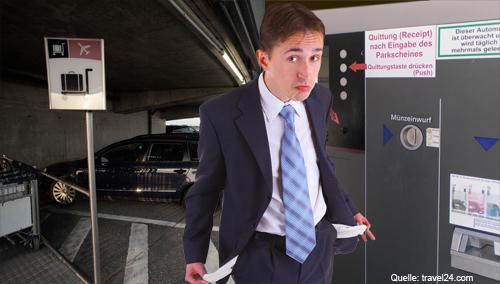 Studie: Deutsche Flughäfen zocken beim Parken ab - München teurer als New York