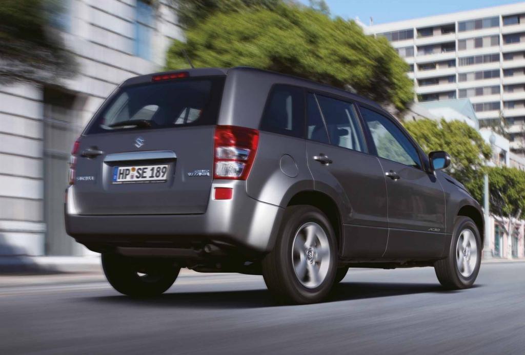 Suzuki bringt Grand Vitara