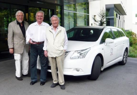 Swing-Jubiläumstour im Toyota Avensis