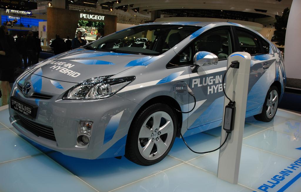 Toyotas Prius-Plug-in-Hybrid ist an der Steckdose aufladbar.
