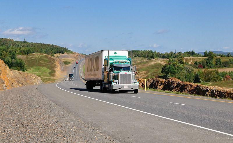 Unterwegs auf dem Trans-Canada Highway
