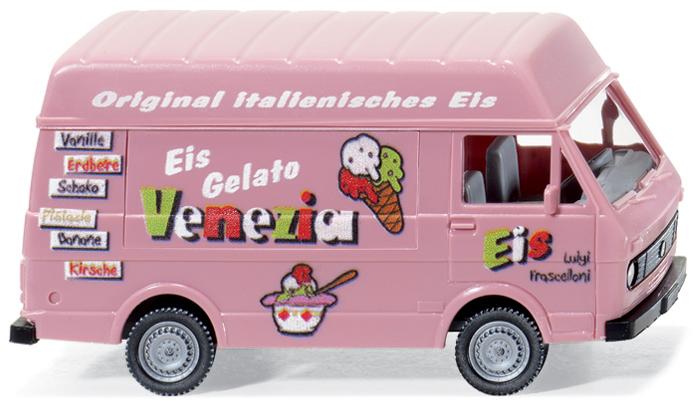 """VW LT 28 """"Eis Venezia"""" von Wiking."""