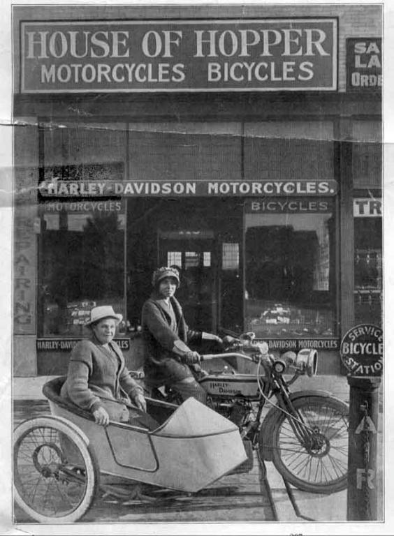 Weil ich ein Mädchen bin - Effie und Avis Hotchkiss durchquerten mit Bike die USA.