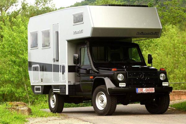 Wohnen auf kleinem Raum erlaubt das Bimobil EX 328.