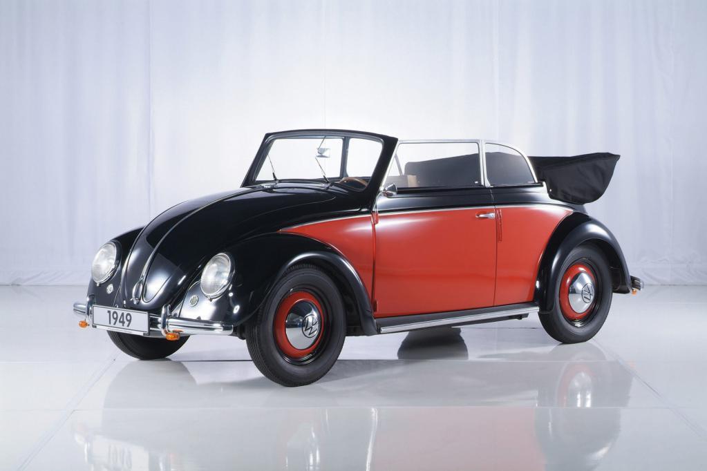 Zahlreiche Käfer Cabriolets wurden bei Karmann in Osnabrück gefertigt.