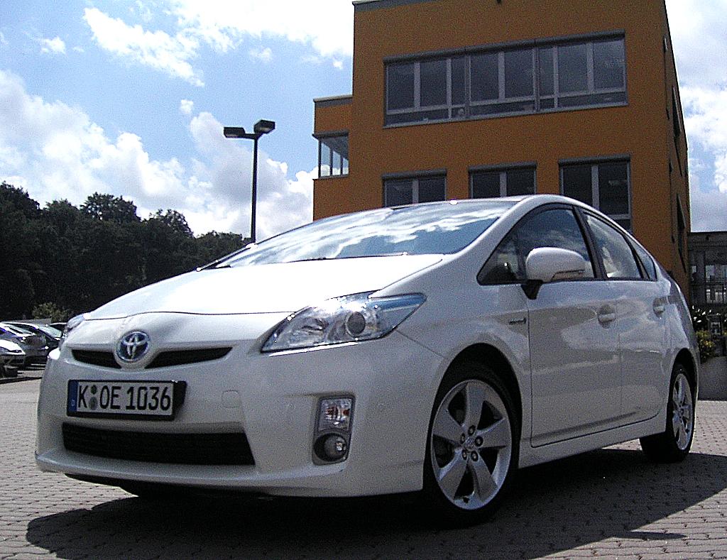 Zukunft des Autos: Toyota-Hybridmodell Prius.
