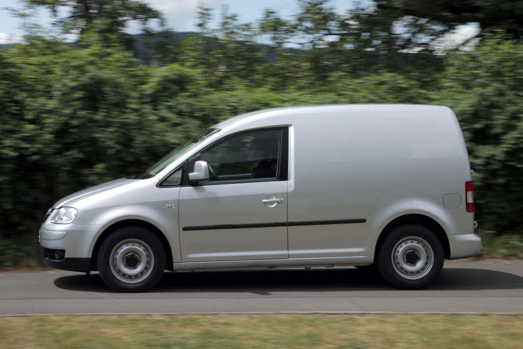 Öko? Logisch: VW Caddy Maxi mit Bio-Möbelbausatz