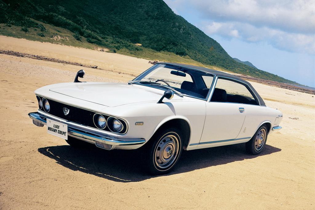 1969: Das Mazda R130 Luce Coupé mit Wankelmotor