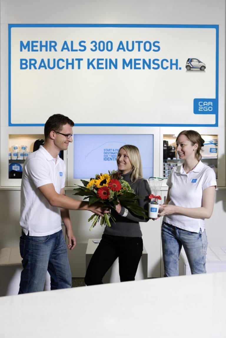 20 000 Kunden nutzen Car2go