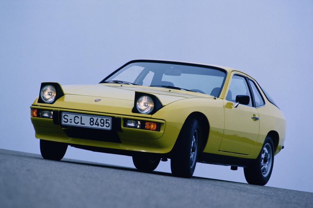 35 Jahre Porsche 924 - Vier gewinnt