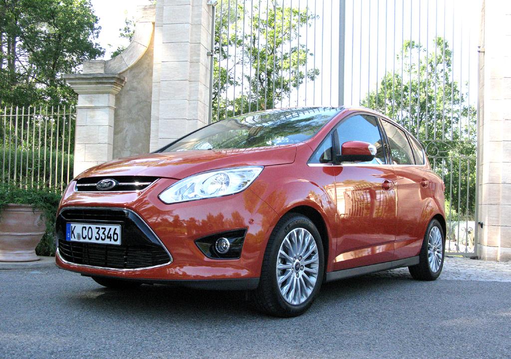 Auch Fords zweite C-Max-Generation fährt im Kinetic-Design vor.
