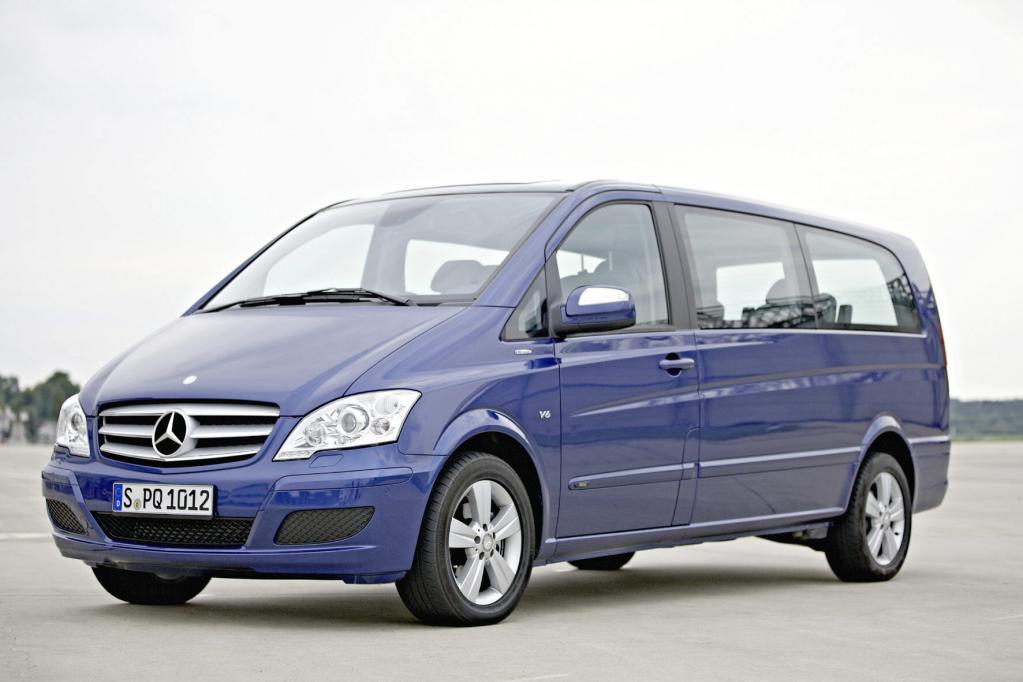 Auch bei Fahrzeugen für den täglichen Gebrauch wie dem Transporter Mercedes Viano stehen Effizienz und Kraftstoffeinsparungen im Vordergrund.