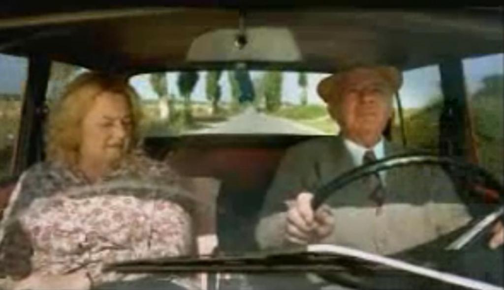 Autofahren: Der Humor alter Menschen
