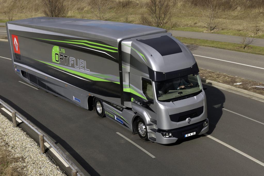 Beim Optifuel von Renault Trucks steht das Thema Spritsparen im Mittelpunkt.