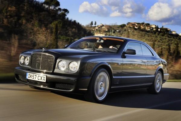 Bentley hat Angst vor Rost