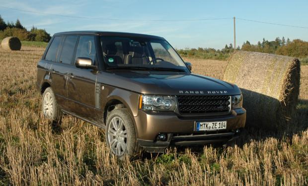 Britischer Nobelhobel: Neuer 313-PS-Achtzylinder-Diesel im Range Rover