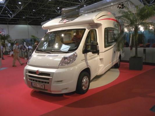 Caravan-Salon 2010: Fiat Ducato die Nummer 1 bei Reisemobilen