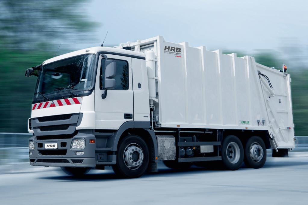 Clever entsorgt: Müll sammeln mit Bremsenergie