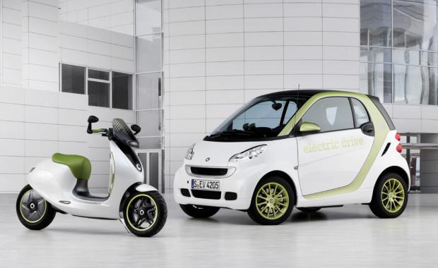 Cooler (Studien-)Auftritt: Elektro-Smart auf zwei Rädern
