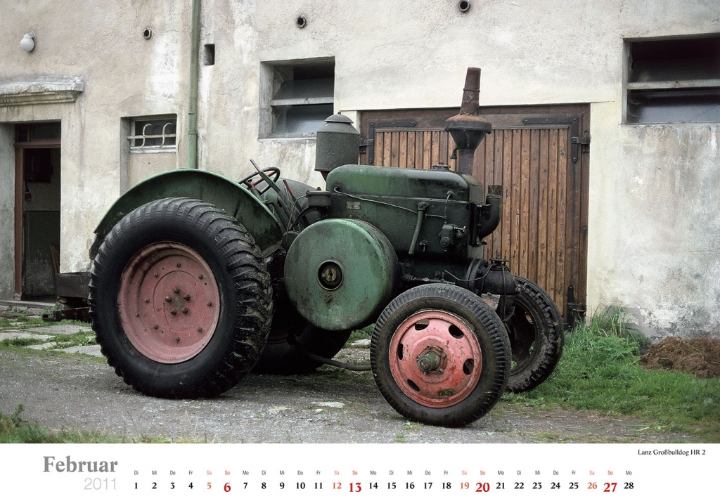DDR-Traktoren haben Kultcharakter, Foto: Heel Verlag